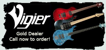 Search for Vigier guitars and basses in stock